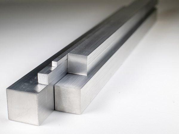 """2 1/2"""" Aluminium Square Bar"""