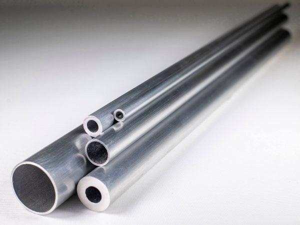 """6"""" x 1/4"""" Aluminium Round Tube"""