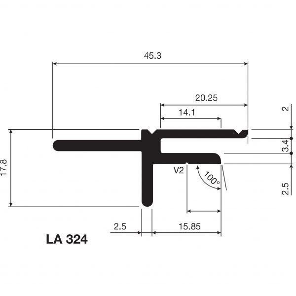 Aluminium LA324