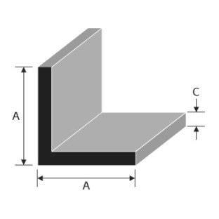 Aluminium Equal Angle
